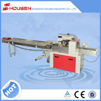 selling well all over the world horizontal cheese flow wrapping machine HSH-320