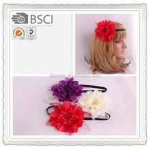 new fashion accessories,red flower headband