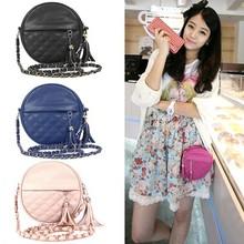 Fashion Women's Synthetic Leather Circle Small Bag mini handbag