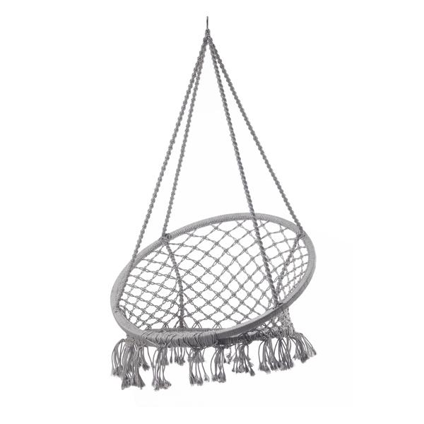 mobiliario jardim area:Mobiliário de jardim balanço corda rodada rede cadeira-Balanços
