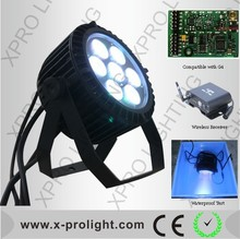 Professional 6IN1rgbwauv LED stage lights cob wash led moving head light