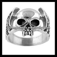 wholesale fashion jewelry skull rings