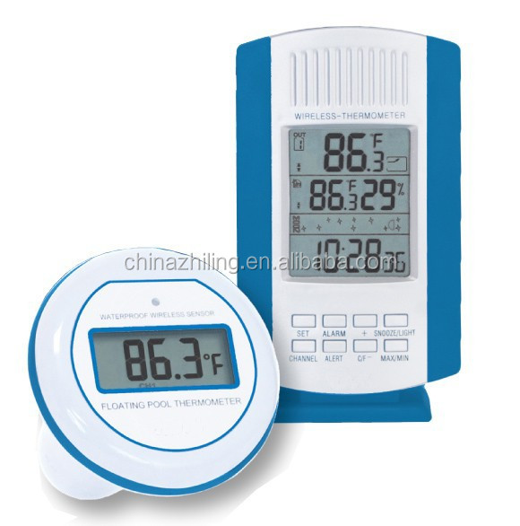 Sh 185 Wireless Digital Pool Thermometer Buy Swimming