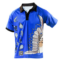 2015 Custom All Over Print Men Polo T Shirts