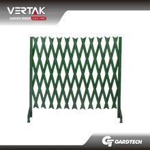 PVC plastic flexible garden fence