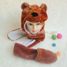 New style winter faux fur animal hat
