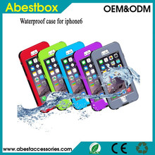 For iPhone 6 Waterproof Case, Slim Durable Shockproof Dirt Snow Case Cover for Apple iPhone 6 Waterproof case for iphone 6