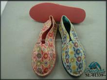 Floral Espadrilles Flats Canvas Shoes Alpargatas for Women