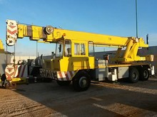 TRUCK MOUNTED CRANE 30 TON 35 MT HEIGHT WORKING