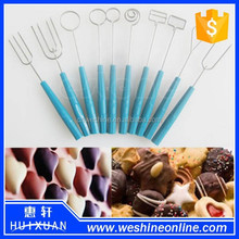 Chocolate fondue fork, dipping fork