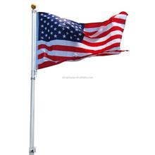 Tragbare fahnenstange verwendet aus auf dieser seite, beliebt flagge pol Leichtigkeit verwendet, Leichtigkeit Verkauf