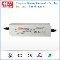 IP67 rated Meanwell LPV-150-12 150w 12v constant voltage waterproof electronics led driver