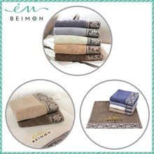 Beimon skin soft cotton face towel flowers printed towel combed towel