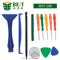 BEST-288 12pcs repair opening tools kit for cell phone