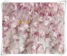 2015 Very Hot Sale 100% Polyester mesh Embroidery patch embroidery fabric