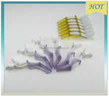 2015 hot sale ABS crocodile sectioning hair clip for salon/barber slips fashion S