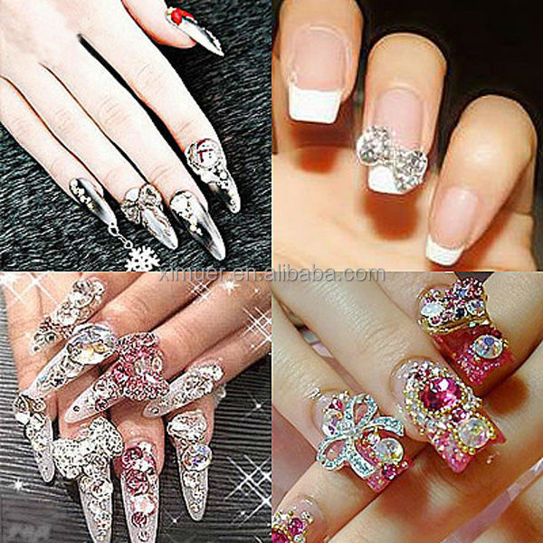 Nail Art Product, Nail Art Designs, Fashion Crystal 3D Nail Art