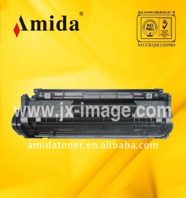 Impresora láser compatible del cartucho de toner Universal HP Q2612A / FX9 / FX10 uso para 1010 / 1015 / 1012 / 3015 / 3020 / 3030 / 1020