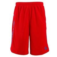 PEAK New Men Sport Short Running Basketball Casual Summer High Quality Men's Shorts BLACK RED