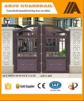 Durable No welding aluminum garden gates AJLY-603