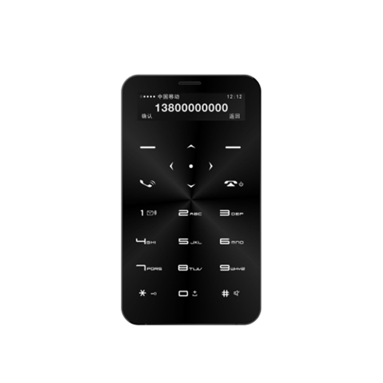 ¡ Nuevo! 1500 mAh 1.68 pulgadas teléfono Bluetooth tarjeta Super Delgado móvil con precio