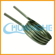 High precision torsion spring for hair clips/hairpin/ bobby pin supplier in china made in Chuanghe of China