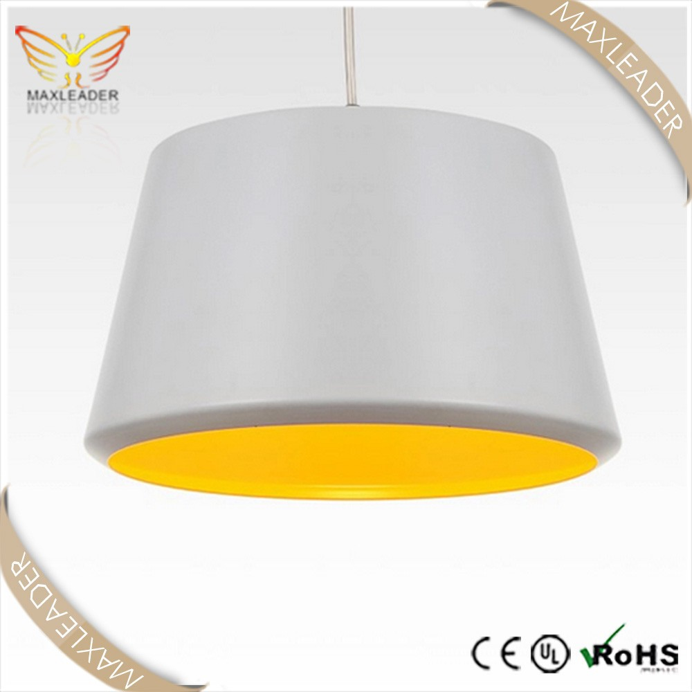 Trapezoid Design Lighting Metal Painting Kitchen Pendant