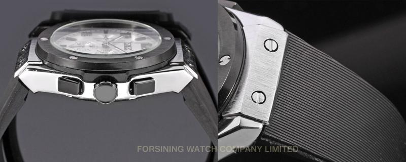 Автоматические Часы Мужчины известный люксовый бренд Автоматические Механические часы большой циферблат Relogio masculino военная спортивные часы часы