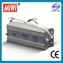 LPV-60-12 IP67 Waterproof 5050 smd led strip power supply
