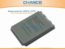 10.8V 4400mAh 6 cells Laptop battery for Apple PowerBook G4 15-inch A1078 A1045 M9325 M9756