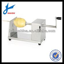 H001 Stainless Steel Manual Spiral potato cutter