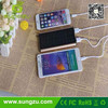 Aluminium Solar Portable Charger, 10000mAh Travel Battery Solar Charger for iPhone 6/ hot sales sunlight solar charger