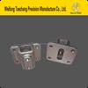 SS201/304/316 Mirror D Shape Frameless Handrail Stair Railing Stainless Steel Glass Clamp