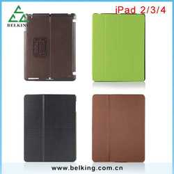 PU Anti-scratch Leather Light-weight Case For iPad Tablet 2 3 4 Flip Fit For iPad Tab