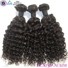Factory Virgin Short Hair Brazilian Curly Weave