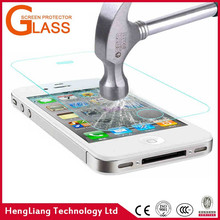 New designed H9 tempered glass screen protector for iPhone 4/4S