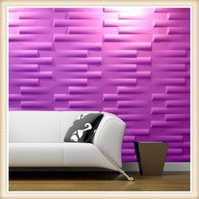 Guangzhou decorative PVC 3D Board / 3D wall panel from China