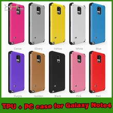 Mobile Phone TPU PC Card Case Cover For Samsung Galaxy Note 4