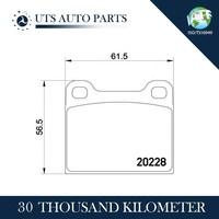 Brake pad wholesale for VW AUDI brake disc pads OEM:811698151