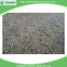 China Wholesale Market Agents 100% polyester burnout velour fabric