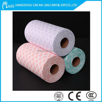 china supplie interlining fabric cold water soluble spunbonded polyethylene nonwoven fabric