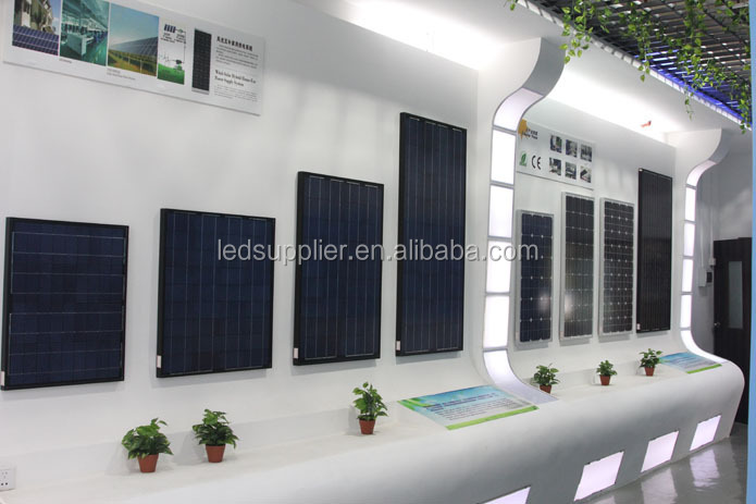 solar system with 250W Monocrystalline price per watt solar panels For Home Use