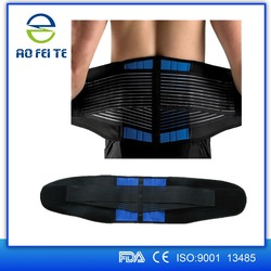 Alibaba china factory outlet enhanced orthopedic aofeite breathable double strap neoprene hot shapers lifting support