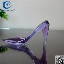 2015 new fashion beautiful crystal shoes gifts for wedding decoration