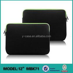 Custom printed neoprene business laptop sleeve bag wholesale for Macbook air 13 inch