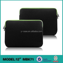 Custom printed neoprene business laptop sleeve bag wholesale for Macbook air 13 inch