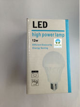 12w Led Bulb with B22 Holder Plastic Housing