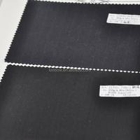 Functional stripe 100% machine washable wool fabrics
