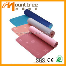 2014 new Solid Color Acupuncture natural rubber yoga mat