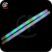 Multi-color Light 65MM*140CM Waterproof Lighted Swim Noodles For Pool Party